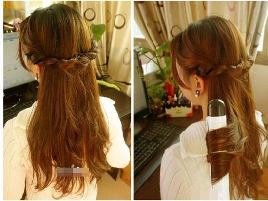 3 kiểu tóc đơn giản mà đẹp ngày xuân
