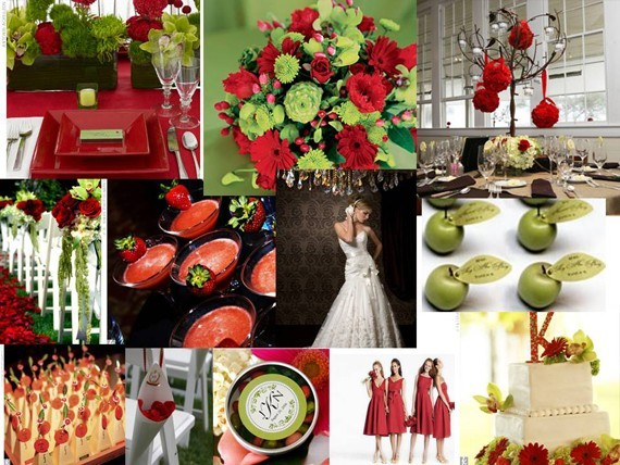 tiệc cưới Giáng sinh 2