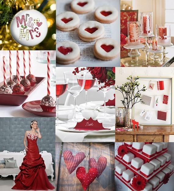 tiệc cưới Giáng sinh 3