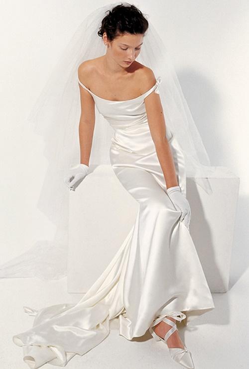 Váy cưới đơn giản vẫn đẹp lộng lẫy - 6