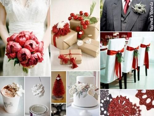 tiệc cưới Giáng sinh 1