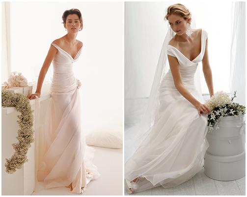 Váy cưới đơn giản vẫn đẹp lộng lẫy - 7