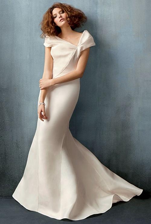 Váy cưới đơn giản vẫn đẹp lộng lẫy - 1