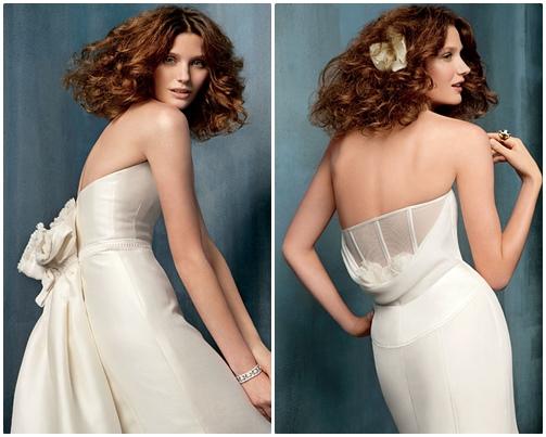 Váy cưới đơn giản vẫn đẹp lộng lẫy - 11