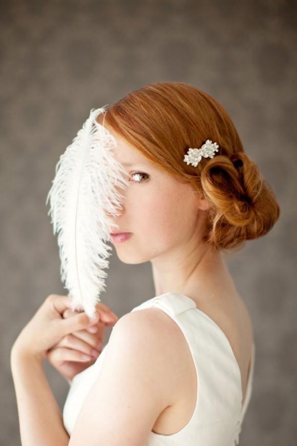 5 kiểu tóc tuyệt đẹp cho cô dâu 2013