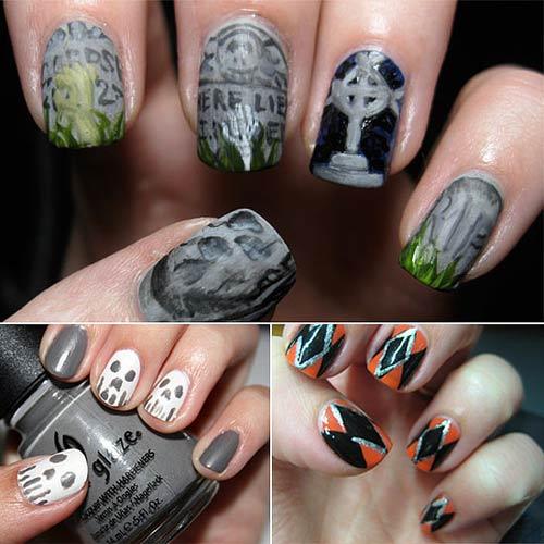 Đi tìm không khí mùa Halloween với nail - 4