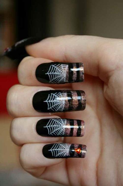 Đi tìm không khí mùa Halloween với nail - 1