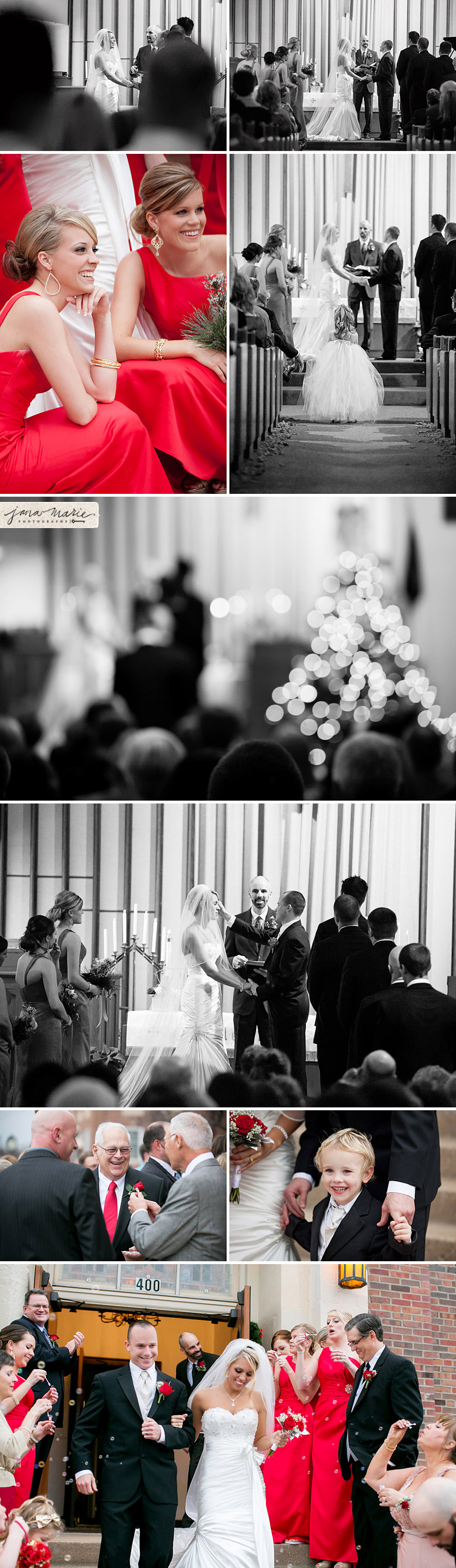 black and white photography, Independence weddings, Bubble exit
