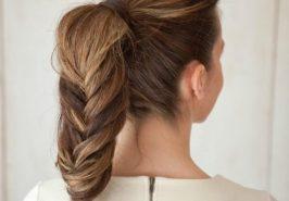 5 kiểu tóc đuôi ngựa dễ thương cho ngày cuối tuần