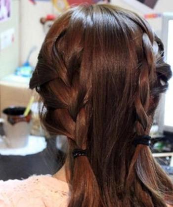 Tóc búi sang trọng cho đêm tiệc Giáng sinh  | tóc tết,búi tóc,giáng sinh,tóc đẹp,tóc đẹp cho giáng sinh