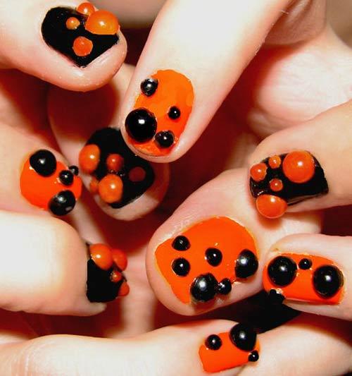 Đi tìm không khí mùa Halloween với nail - 6