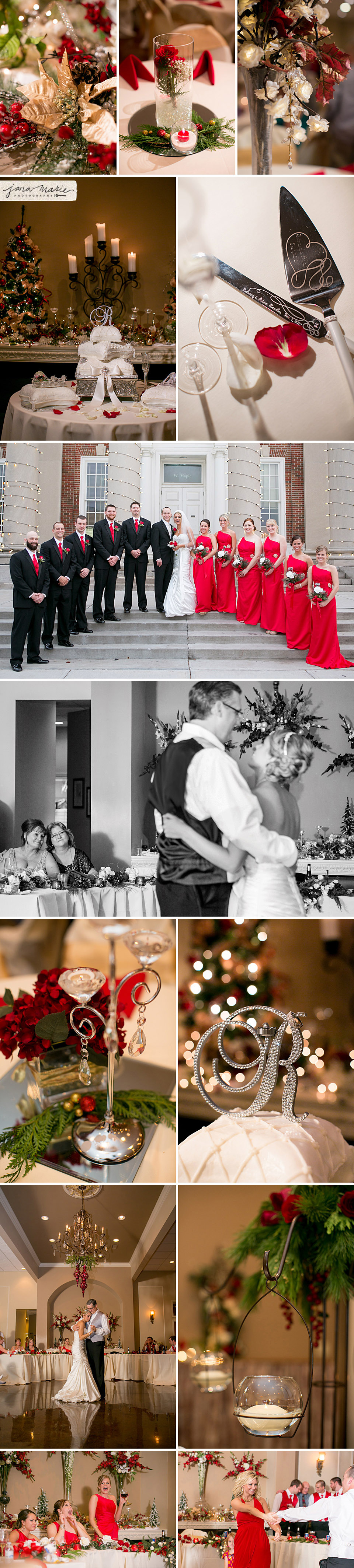 Midwest wedding photographer, Featured images, father daughter dance, bridal party, Jana Marler