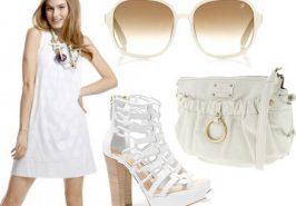 Hướng dẫn cách phối đồ với váy trắng