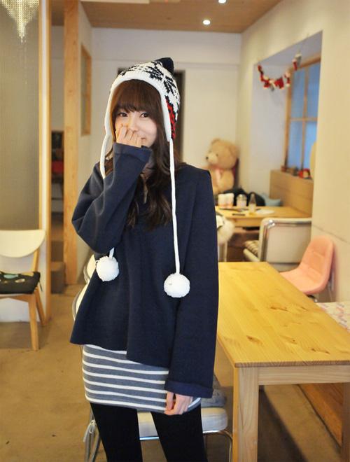 Mũ len xinh xắn dễ thương dành cho teen