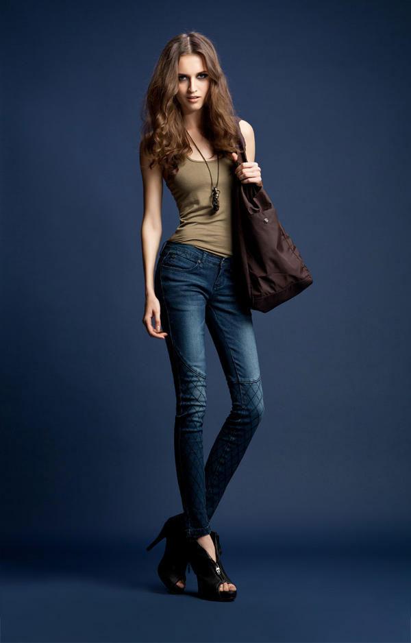 Mặc jeans sành điệu mùa đông, Bí quyết mặc đẹp, Thời trang, quan jeans, ao khoac jeans, ao thun, ao len, bot, bot thap co, bit tat, thoi trang dong