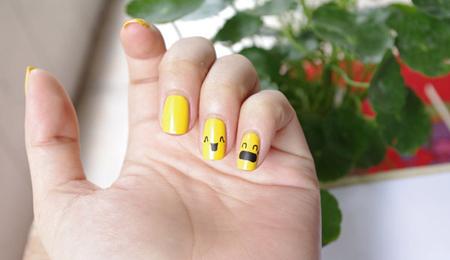 Vẽ những kiểu nail ngộ nghĩnh, đáng yêu - 11
