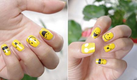 Vẽ những kiểu nail ngộ nghĩnh, đáng yêu - 12