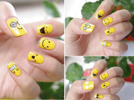 Vẽ những kiểu nail ngộ nghĩnh, đáng yêu - 19