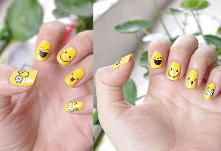 Vẽ những kiểu nail ngộ nghĩnh, đáng yêu - 16