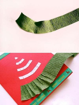Cách làm thiệp cây thông Noel đẹp mà siêu dễ
