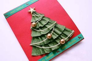 Làm thiệp cây thông Noel đẹp mà siêu dễ 6