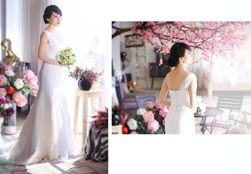 4 mẫu váy 'cứu tinh' cho cô dâu ngực lép - 6
