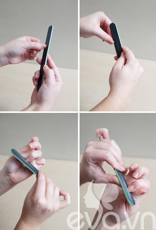 Cận cảnh 7 bước cho bộ nail xinh đẹp - 5