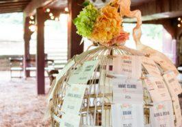 Bảng chỗ ngồi cho khách ở đám cưới