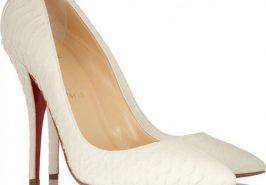 Kiểu giày cưới phổ biến cho cô dâu