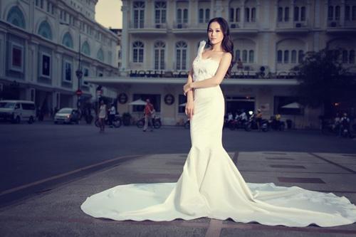Áo cưới lộng lẫy cho nàng dâu trẻ - 12