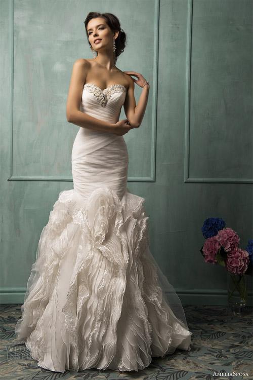 Váy cưới dành riêng cho cô dâu nóng bỏng - 10