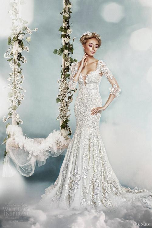 Váy cưới dành riêng cho cô dâu nóng bỏng - 2