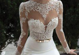 Váy cưới dành riêng cho cô dâu nóng bỏng