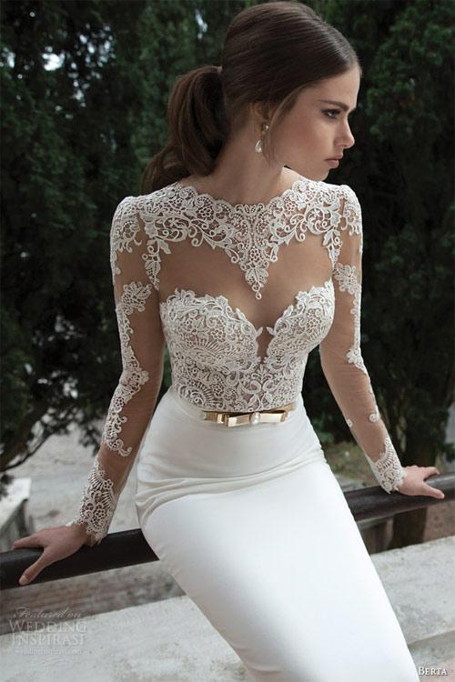 Váy cưới dành riêng cho cô dâu nóng bỏng - 1