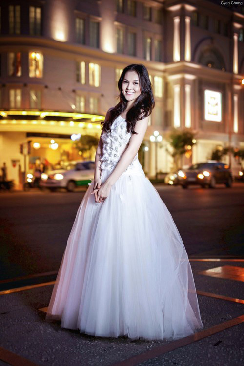 Áo cưới lộng lẫy cho nàng dâu trẻ - 8