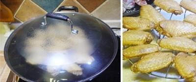 Cánh gà hun khói thơm nức cho bữa cơm ngày mưa 13