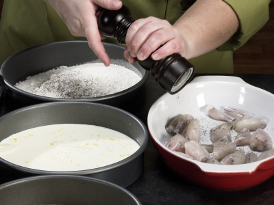A Step-by-Step How To Photo Pictorial Learn How To Cook - How To Photo Pictorial Steps Frog Legs
