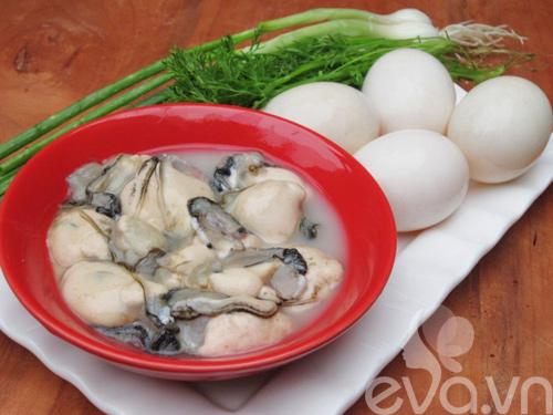 Hàu tráng trứng thơm ngon, bổ dưỡng - 1