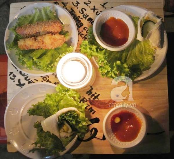 Lạ miệng sandwich cuộn Đà Nẵng 3