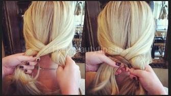 Hướng dẫn cách tạo kiểu tóc tết đuôi cá đơn giản
