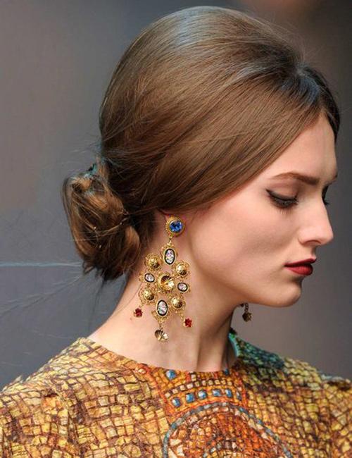 9 5 7 kiểu tóc búi bạn nên thử cho mùa hè 2013