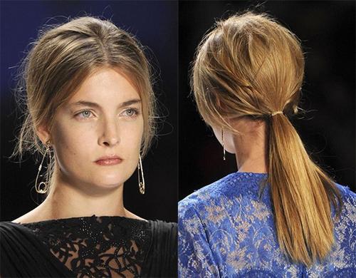 13 3 7 kiểu tóc búi bạn nên thử cho mùa hè 2013