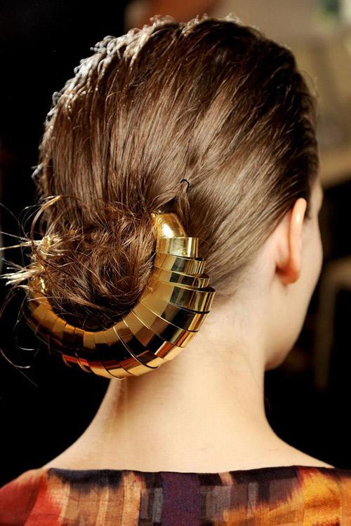 16 2 7 kiểu tóc búi bạn nên thử cho mùa hè 2013