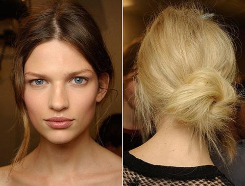 2 30 7 kiểu tóc búi bạn nên thử cho mùa hè 2013
