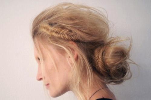 4 12 7 kiểu tóc búi bạn nên thử cho mùa hè 2013