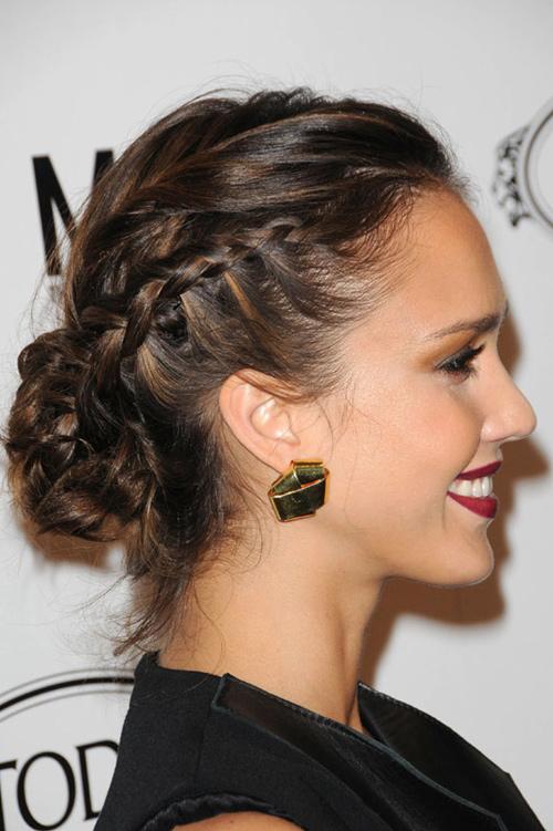 6 7 7 kiểu tóc búi bạn nên thử cho mùa hè 2013