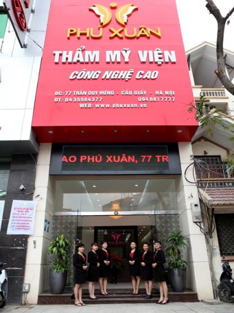 Danh bạ thẩm mỹ viện ,Thẩm mỹ viện Hà Nội,Thẩm mỹ viện Phú Xuân