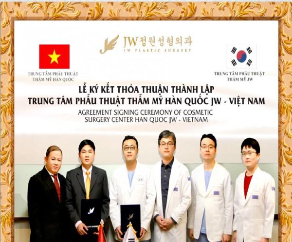 Thẩm mỹ viện Sài Gòn,Thẩm mỹ viện Hàn Quốc JW