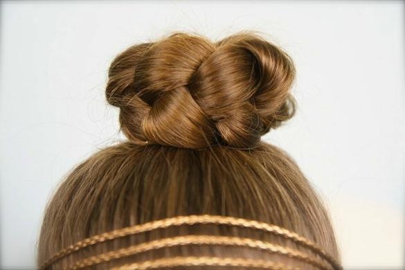 8 bước búi tóc thanh lịch chỉ trong 1 phút