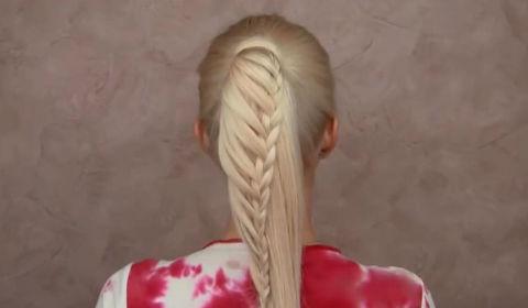 5 phút cho mái tóc đuôi ngựa tết cực độc đáo